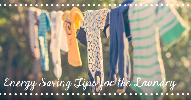Energy Saving Tips for the Laundry 2