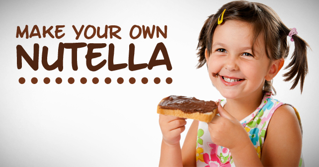 Make Your Own Nutella Love My House