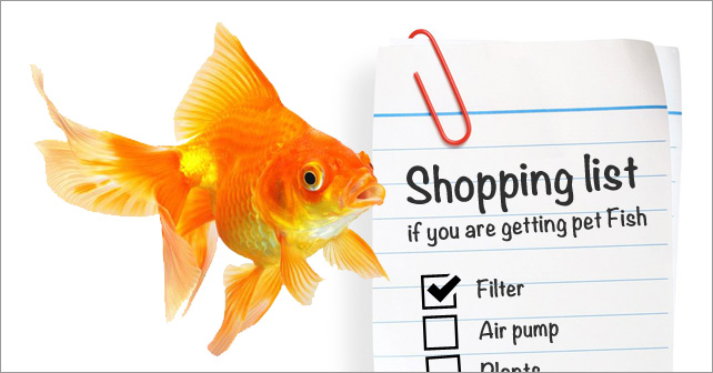 Shopping list if you are getting pet fish love my house for What sound does a fish make