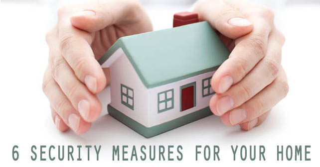 6 security measures for your home