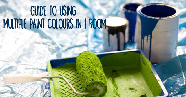 Fine Guide To Using Multiple Paint Colours In 1 Room Love My House Interior Design Ideas Tzicisoteloinfo